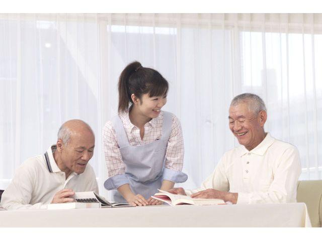 大手介護系企業の老人ホーム!