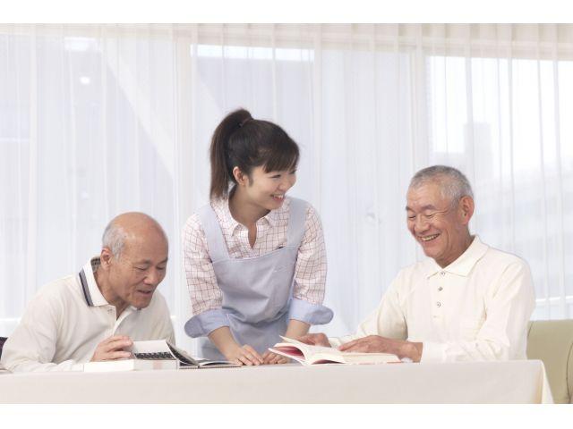 江東区◆定員72名の有料老人ホームで派遣募集◆週3日〜勤務OK!